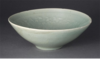 Chrysanthemum motif decorative celadon bowl, Goryeo period (11th century)
